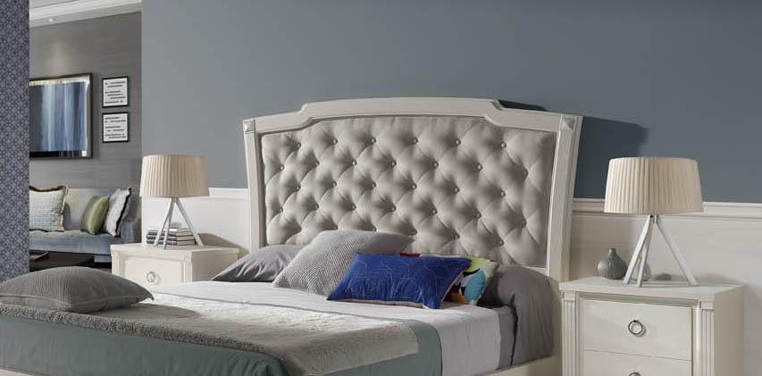 Decoraci n del dormitorio cabeceros originales - Cabecero de cama acolchado ...