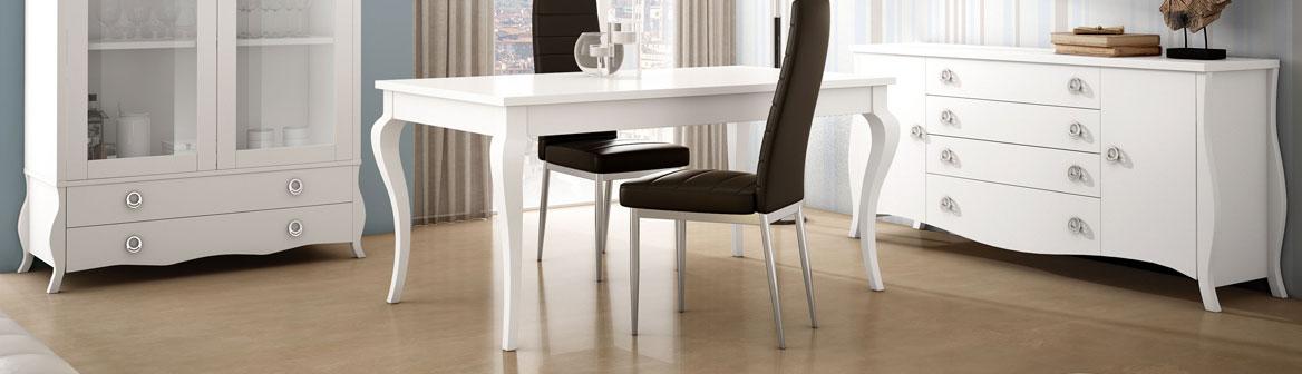 C mo elegir tus muebles de sal n mesa de comedor pieza clave for Muebles salon con patas