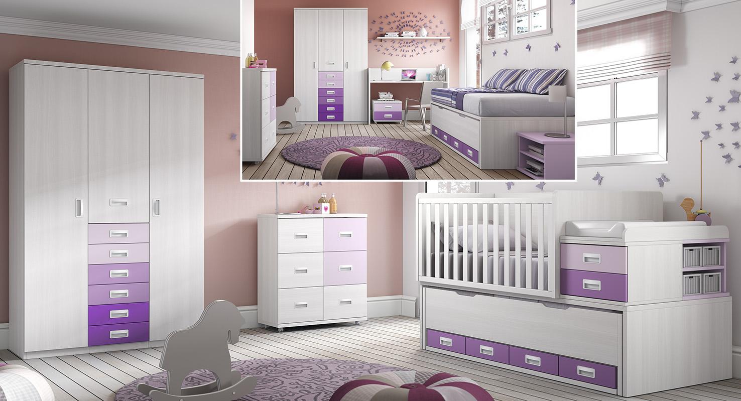 Habitaciones infantiles convertibles ideas de disenos for Habitaciones infantiles baratas